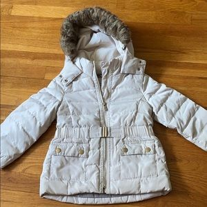 Zara girl down jacket (size 4/5)